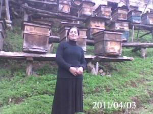 Georgian beekeeper